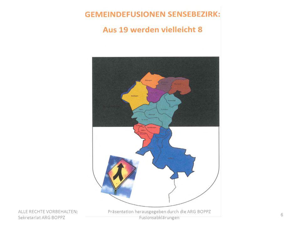 17 Vorstellen des Fusionsvereinbarungsentwurfes Art.