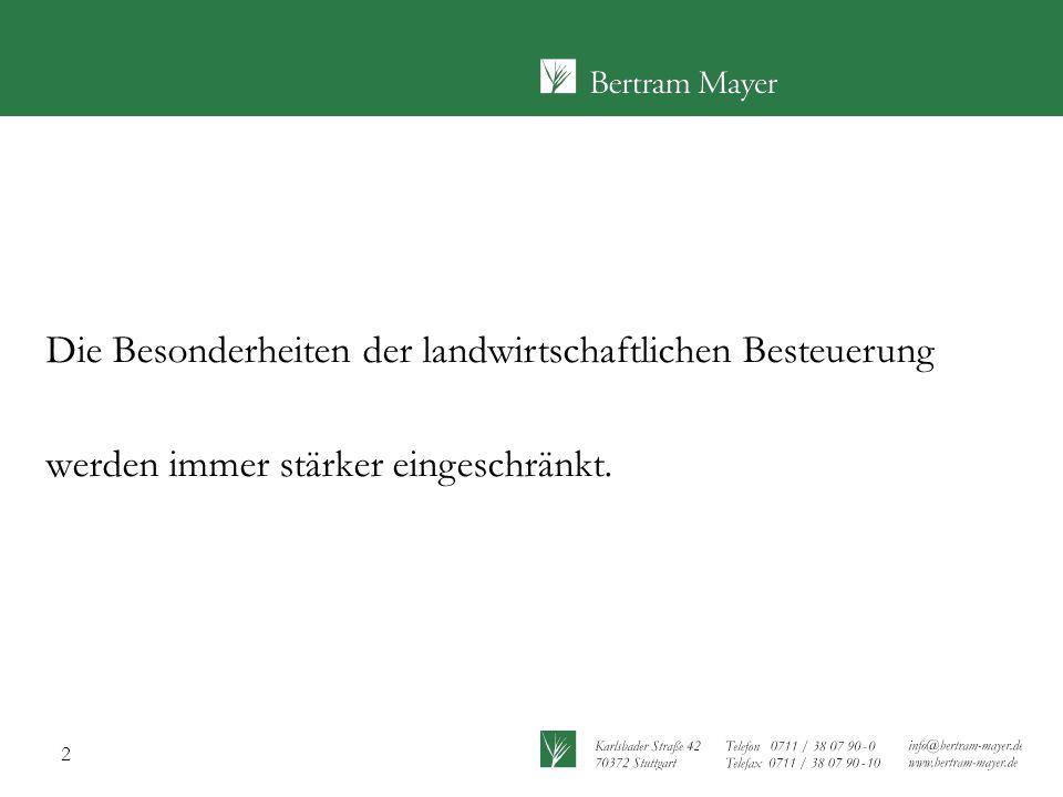 23 Beschränkung des Zukaufs von fremden Erzeugnissen Urteil des Bundesfinanzhofes (BFH) vom 25.03.2009 Anwendungsregelung => Wirtschaftsjahre, die nach dem 31.12.2009 beginnen, d.