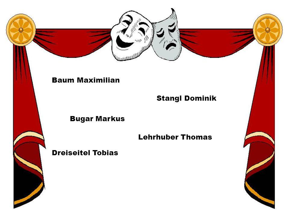 Baum Maximilian Bugar Markus Dreiseitel Tobias Lehrhuber Thomas Stangl Dominik