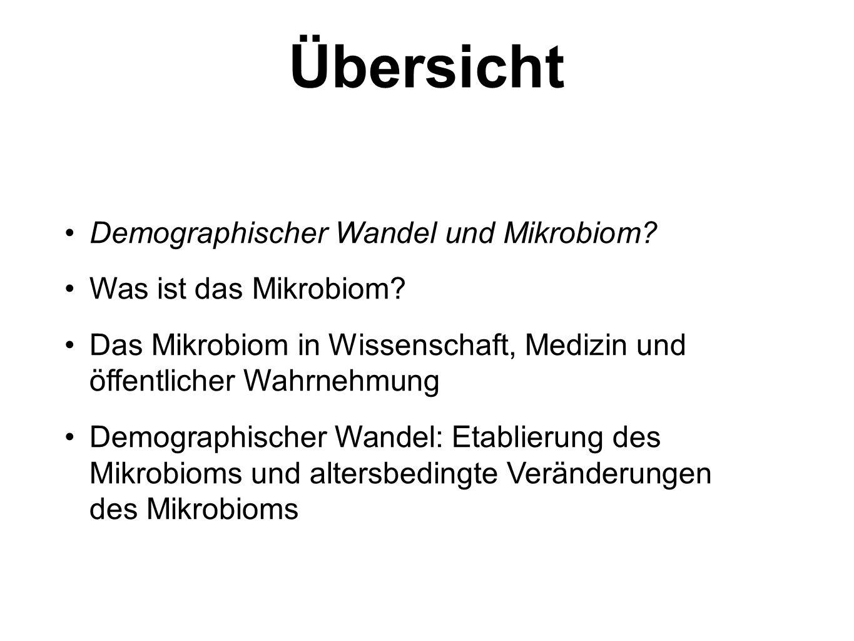 Demographischer Wandel Aus medizinischer Sicht: 1.