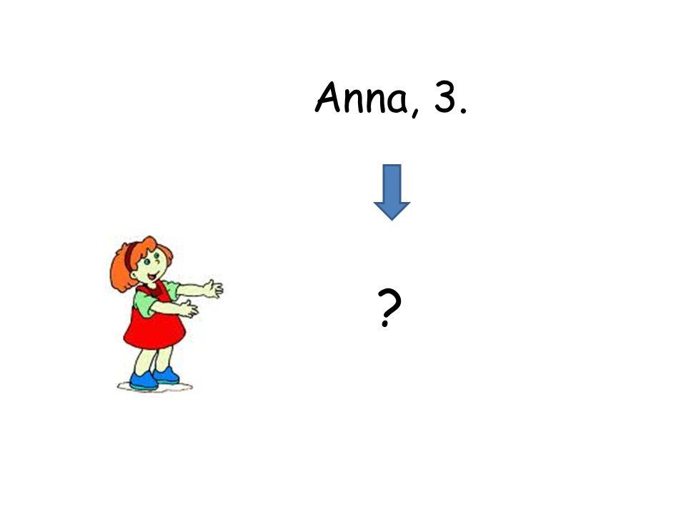 ? Anna, 3.