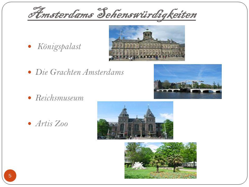 Aktuelles über Amsterdam Hafenstadt & Hauptstadt der Niederlande.