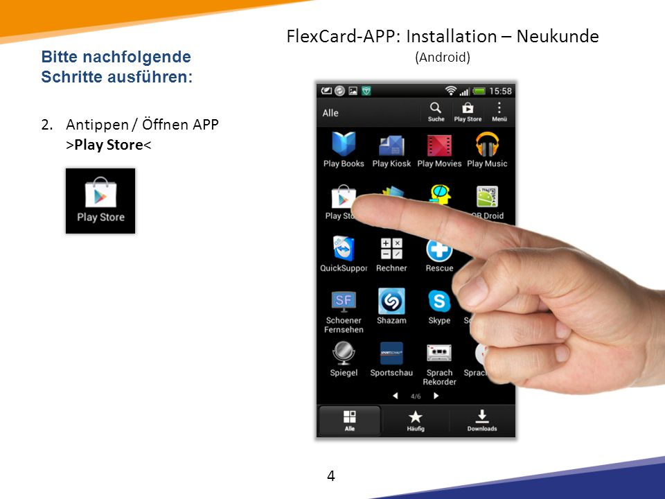 Weitere Tutorials / FAQ zu unseren Produkten: FlexKom POS Terminals & Drucker FlexKom Smartphone APPs FlexKom Kundenkarte FlexKom Internet Backoffice Finden Sie hier: http://support.flexkom.com