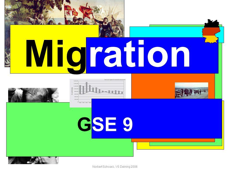 Norbert Schwarz, VS Deining 2006 Migration GSE 9