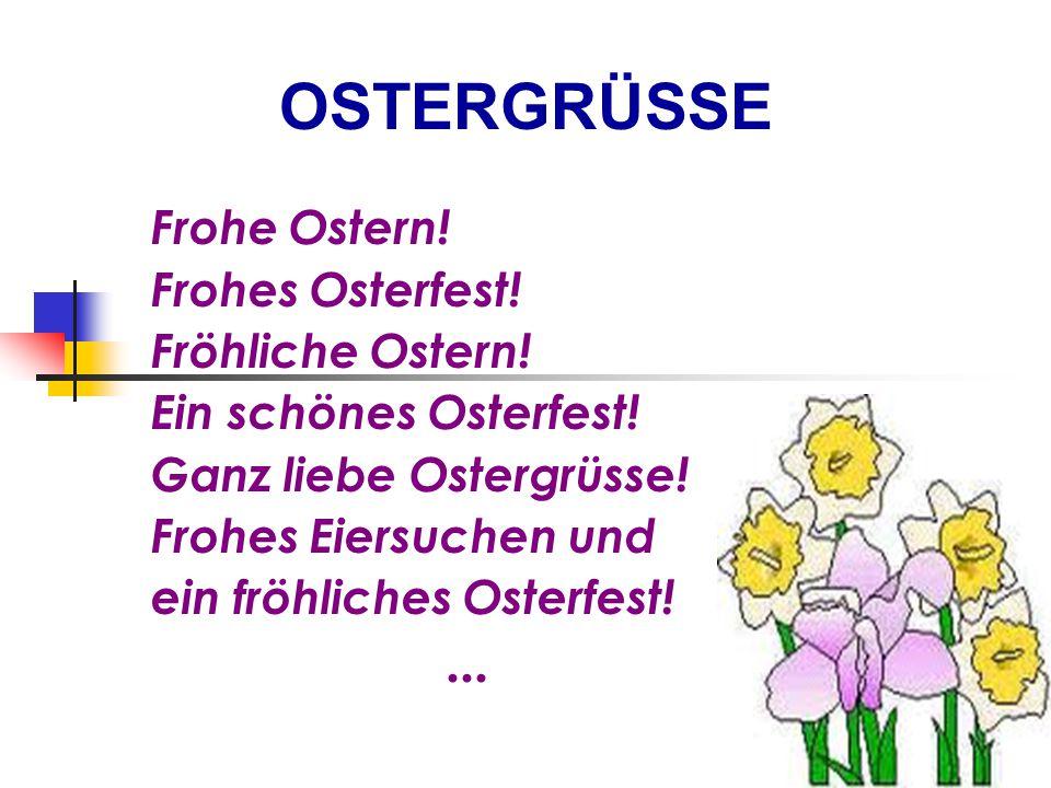 Frohe Ostern.Frohes Osterfest. Fröhliche Ostern. Ein schönes Osterfest.