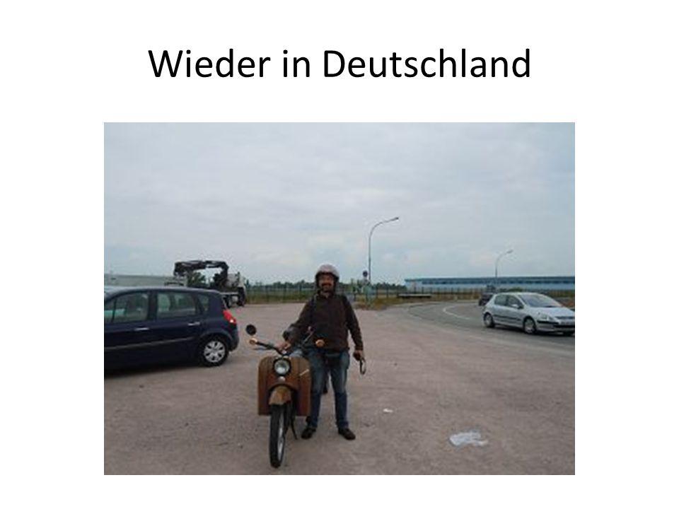 Wieder in Deutschland