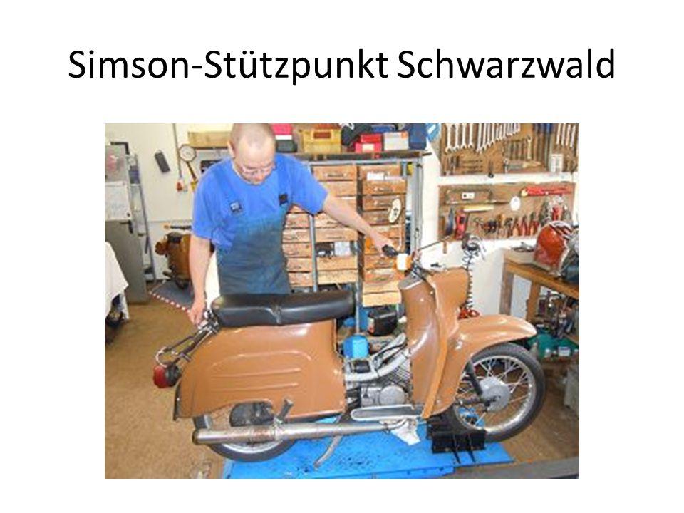 Simson-Stützpunkt Schwarzwald