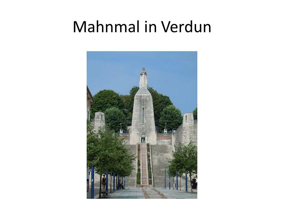 Mahnmal in Verdun