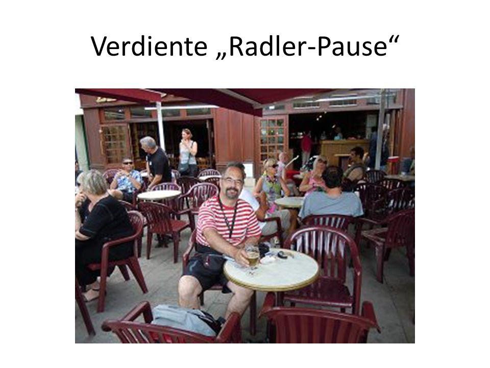 """Verdiente """"Radler-Pause"""