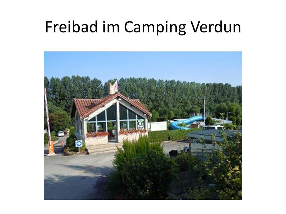 Freibad im Camping Verdun