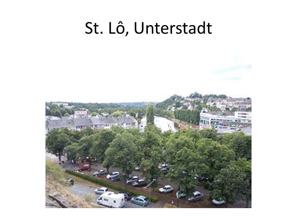 St. Lô, Unterstadt