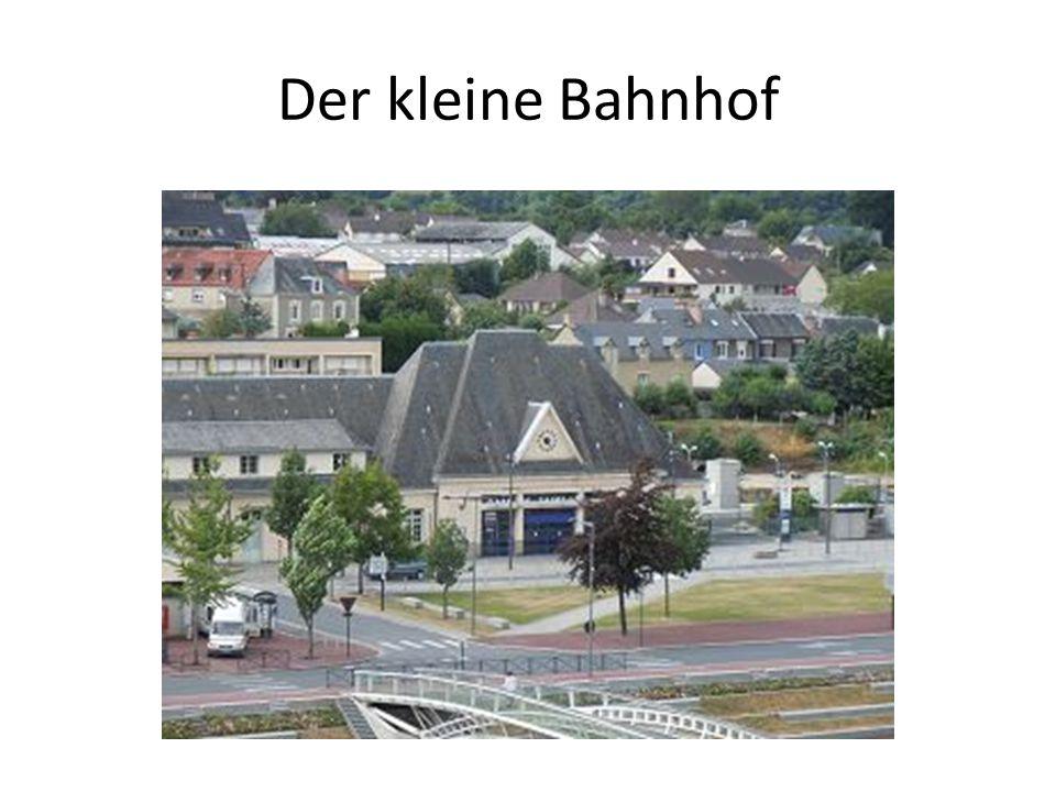 Der kleine Bahnhof