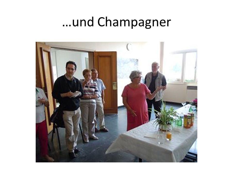 …und Champagner