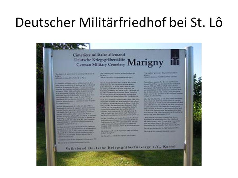 Deutscher Militärfriedhof bei St. Lô