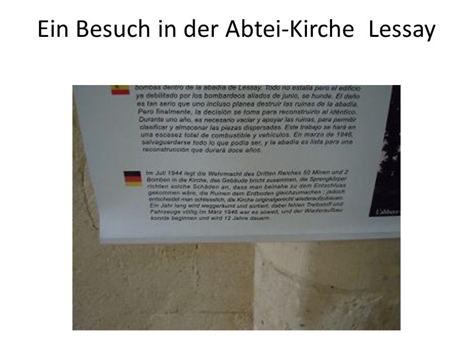 Ein Besuch in der Abtei-Kirche Lessay