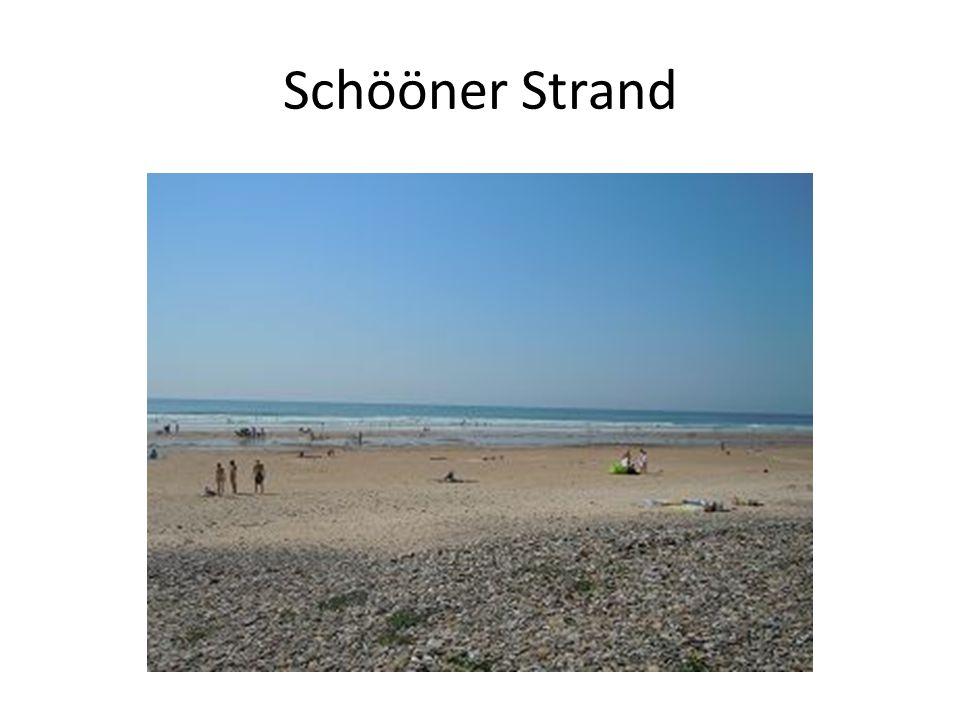 Schööner Strand