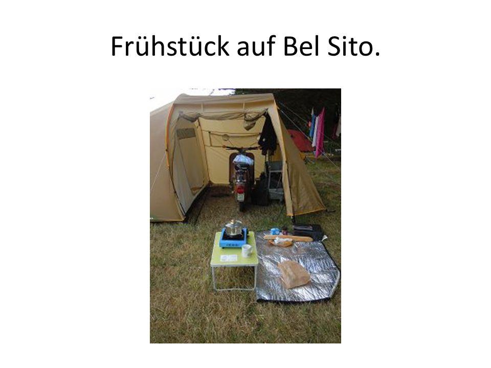 Frühstück auf Bel Sito.