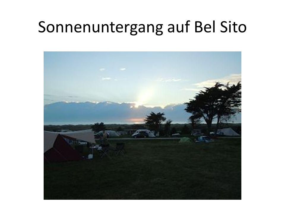Sonnenuntergang auf Bel Sito