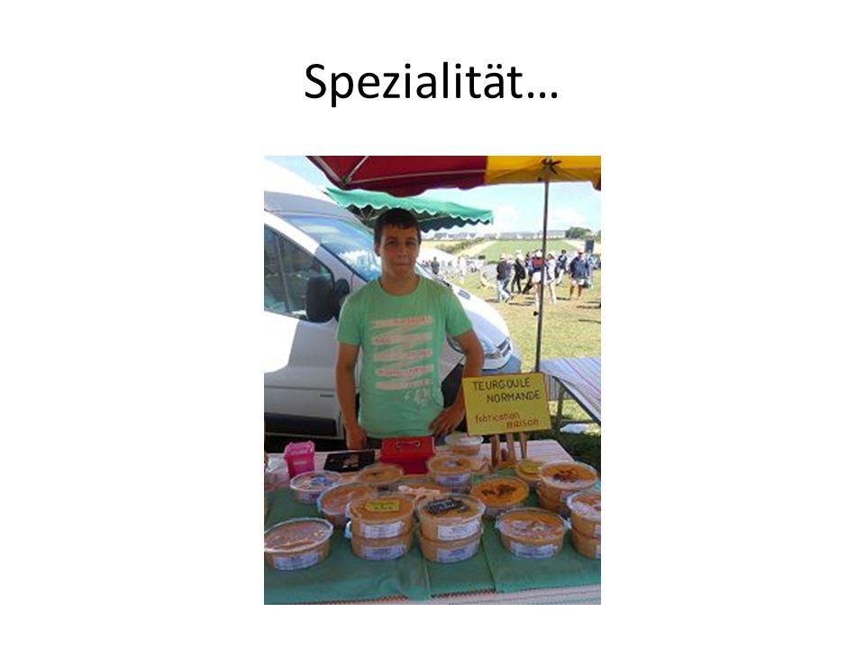 Spezialität…