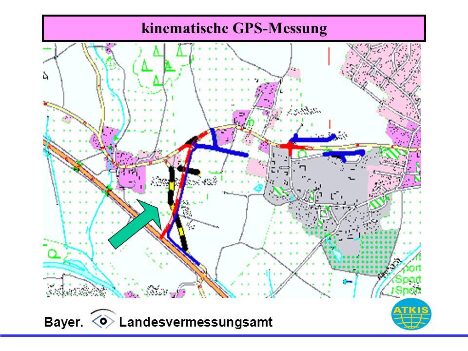 Bayer. Landesvermessungsamt kinematische GPS-Messung