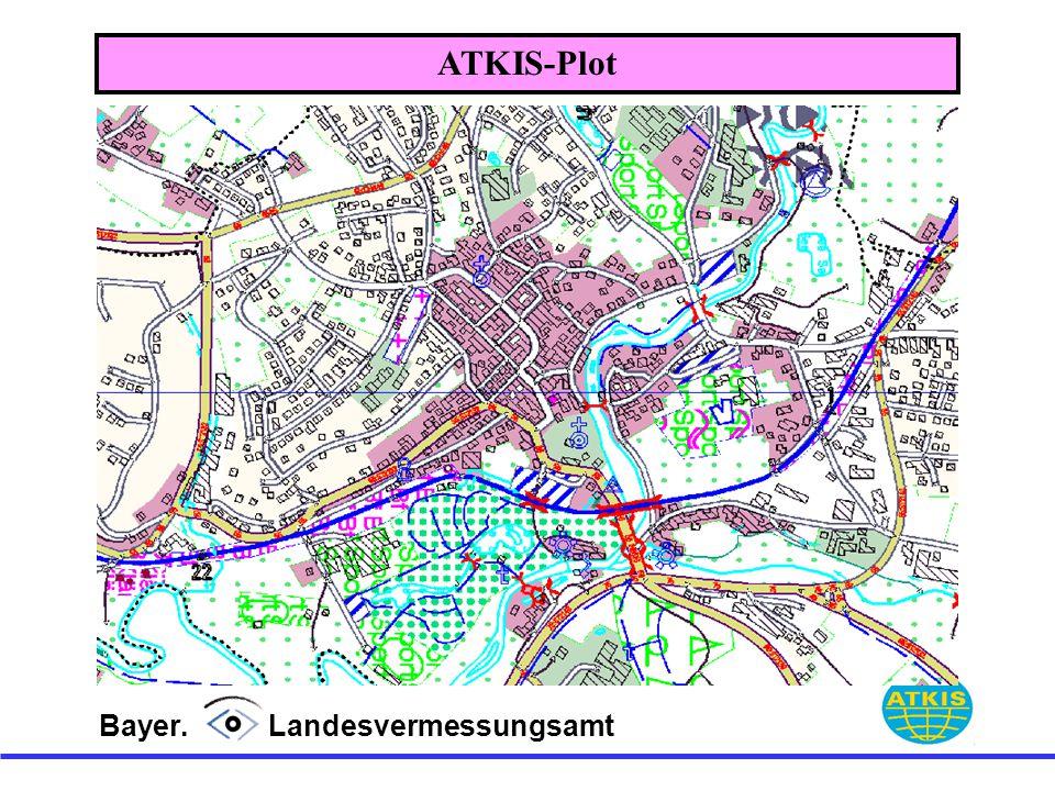 Bayer. Landesvermessungsamt ATKIS-Plot