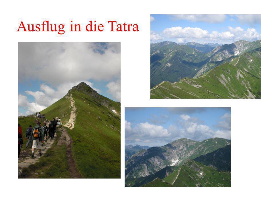 Ausflug in die Tatra