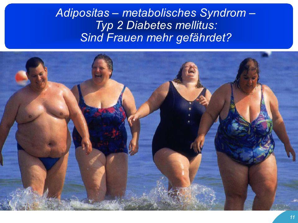 11 Adipositas – metabolisches Syndrom – Typ 2 Diabetes mellitus: Sind Frauen mehr gefährdet