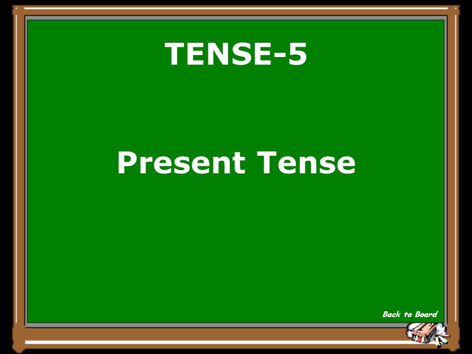 TENSE- 5 Ich esse gern Speck. Show Answer