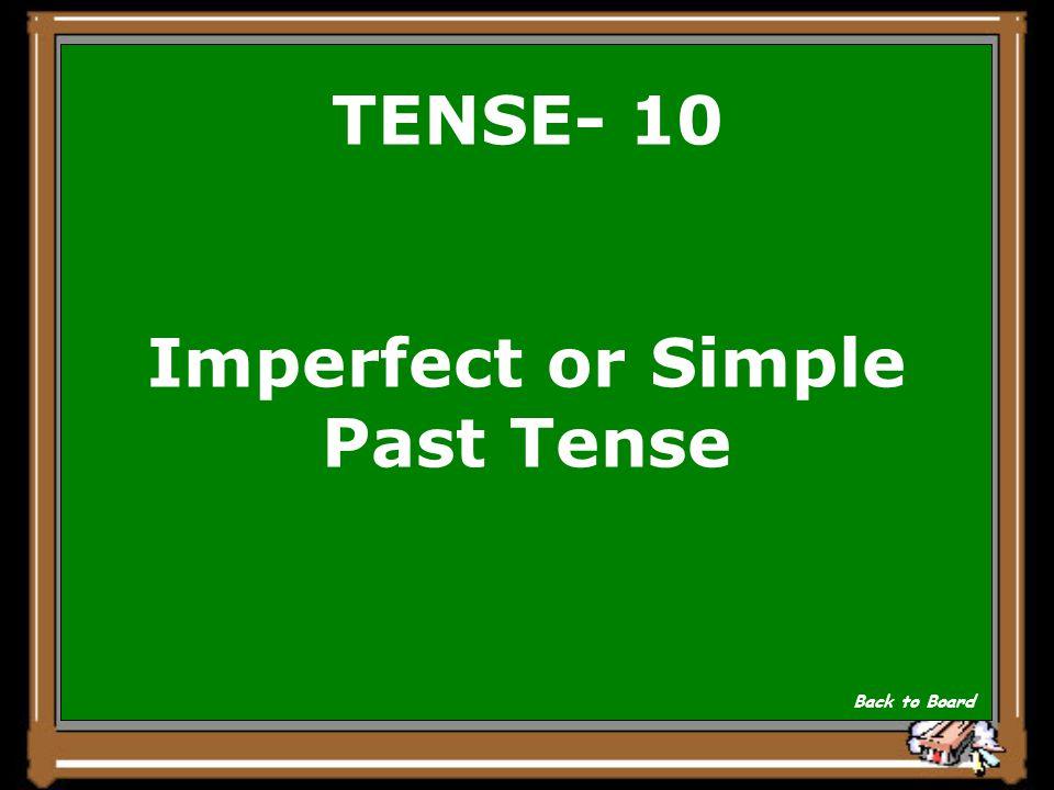 TENSE- 10 Ich ass Speck. Show Answer