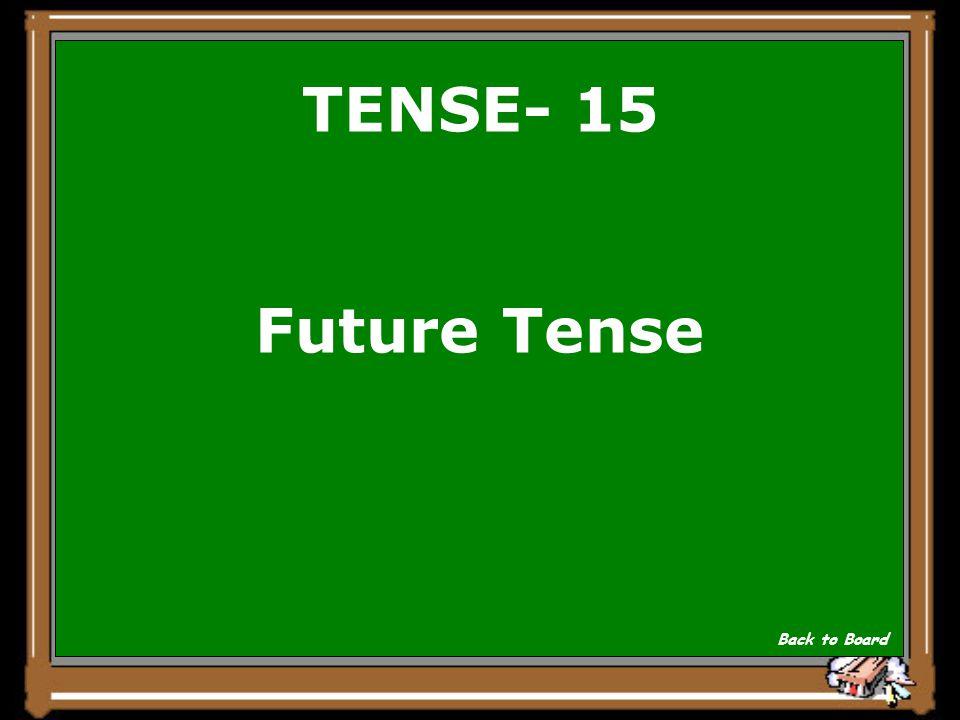 TENSE- 15 Ich werde Speck essen. Show Answer