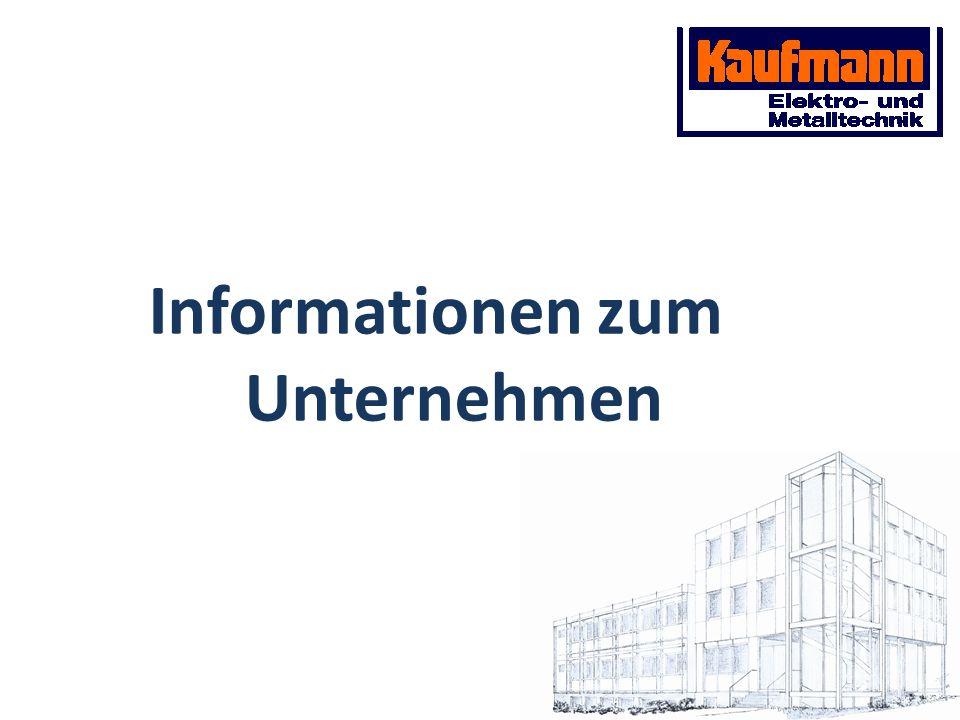 Informationen zum Unternehmen