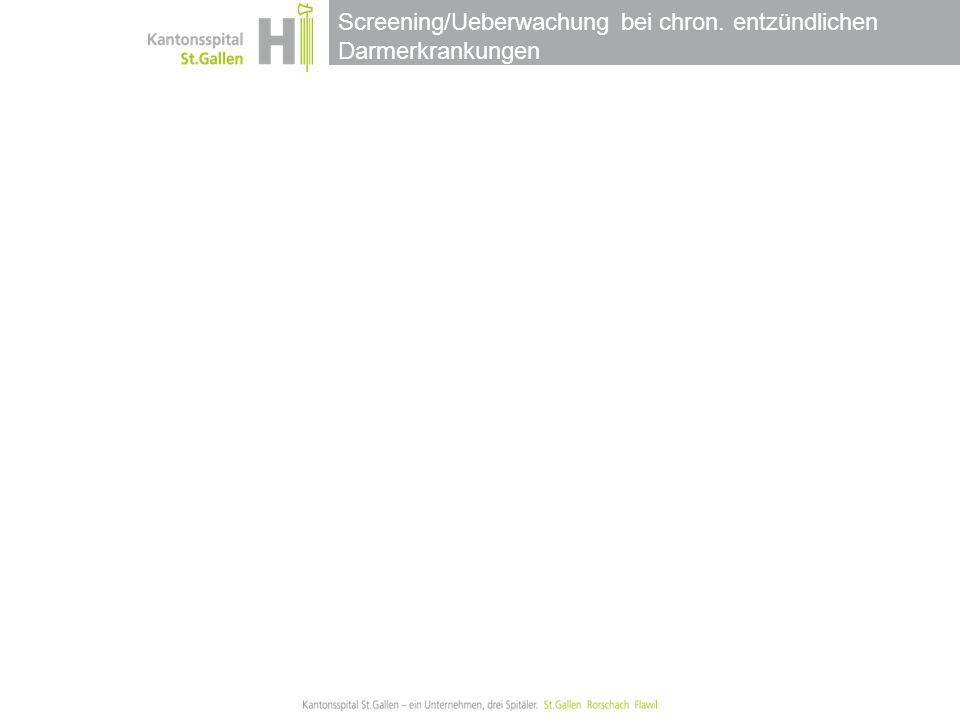 Screening/Ueberwachung bei chron. entzündlichen Darmerkrankungen