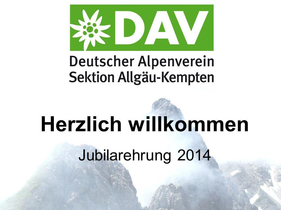 Herzlich willkommen Jubilarehrung 2014