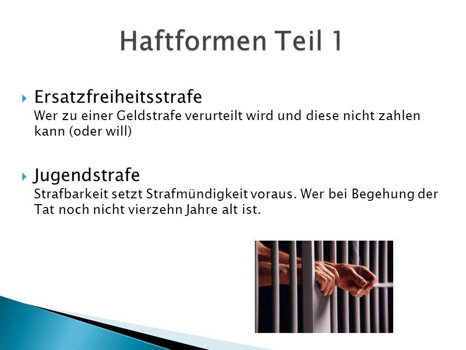  Untersuchungshaft Untersuchungshaft wird dann verhängt, wenn ein dringender Tatverdacht und zugleich ein besonderer Haftgrund besteht.