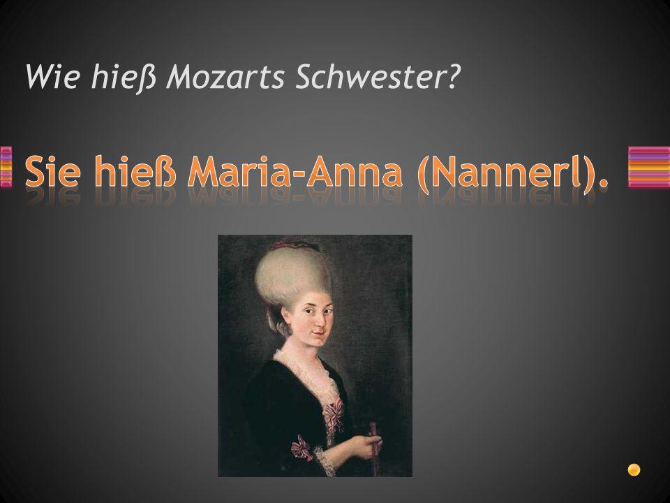 Welches Stück hat Mozart nicht geschrieben.