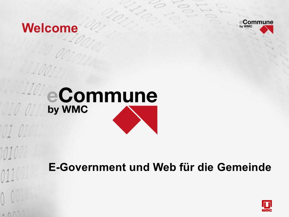 Welcome E-Government und Web für die Gemeinde