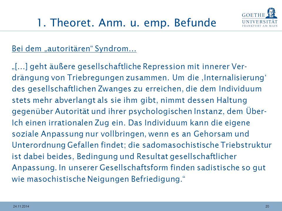"""2024.11.2014 Bei dem """"autoritären Syndrom..."""