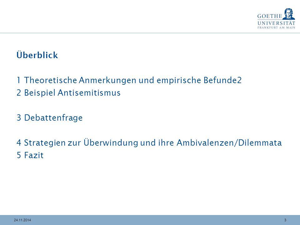"""3424.11.2014 4 Strategien zur Überwindung Ambivalenzen von """"Holocaust Education in der Migrationsgesellschaft: Bsp.: Bundeszentrale für politische Bildung (Hrsg.) (2012)."""