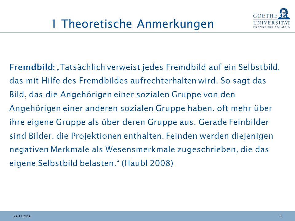 3724.11.2014 4 Strategien zur Überwindung Befunde u.a.: Höhere Vorurteile in ostdeutschen Kreisen resultieren aus geringeren Kontakten, aber nicht aus einer höheren Arbeitslosenquote.