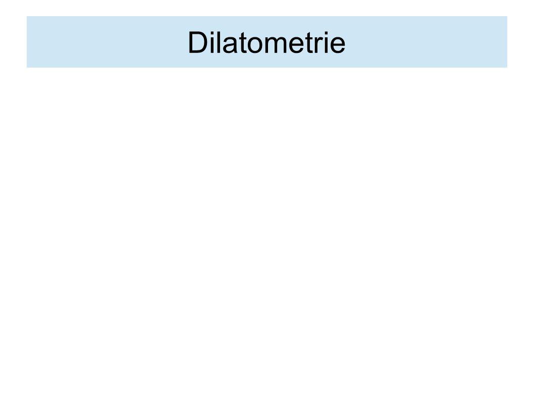Dilatometrie