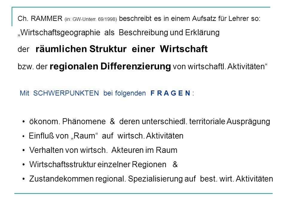 Ch.RAMMER (in: GW-Unterr.
