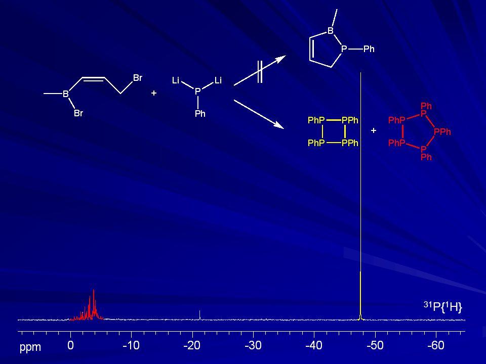 Synthese eines 1,2-Boraphosphaindans Ausbeute 67%