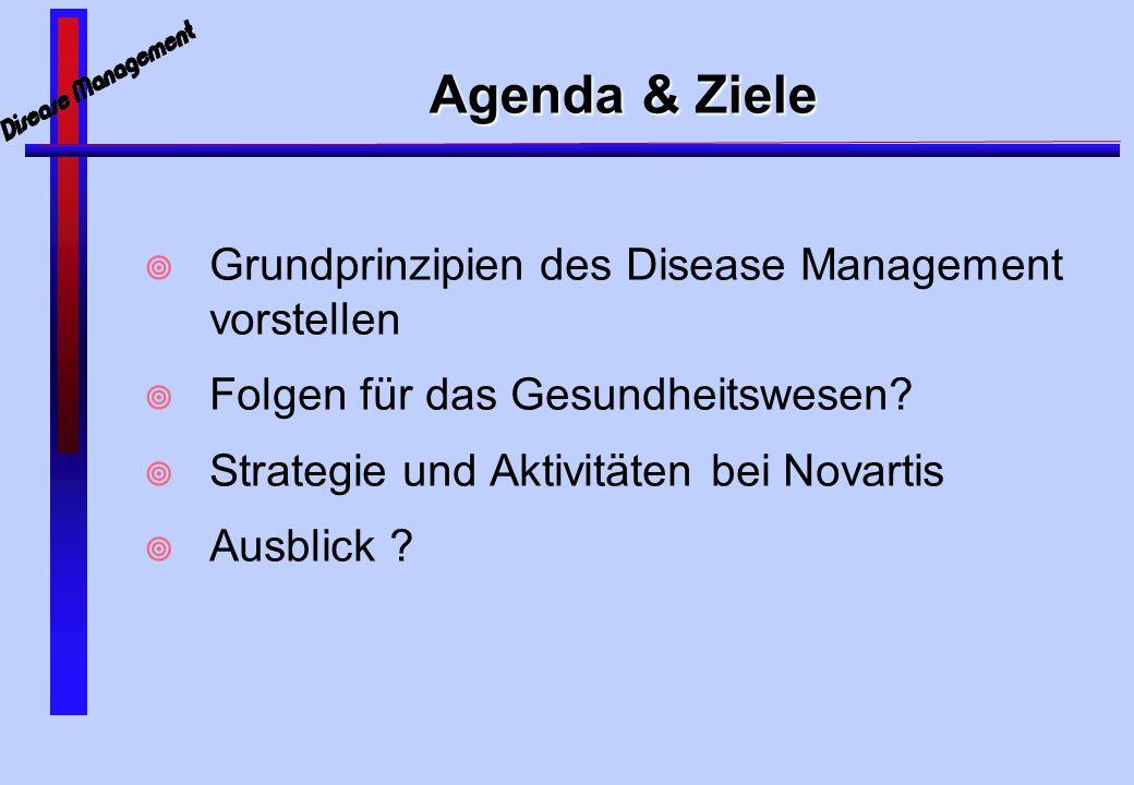 Woher kommt Disease Management ?