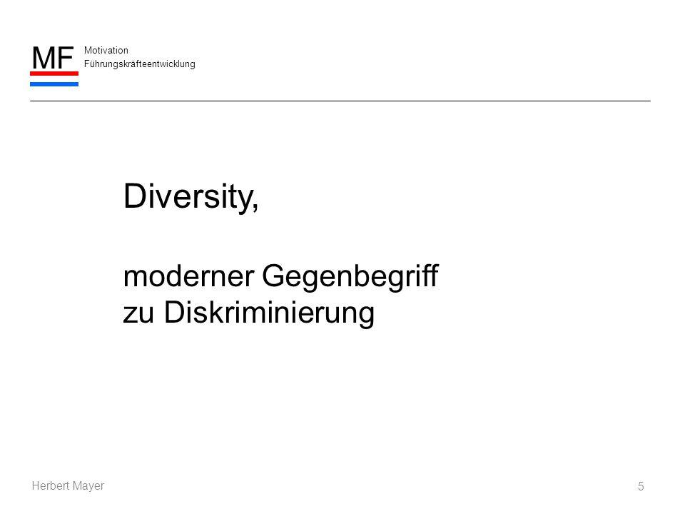 Motivation Führungskräfteentwicklung MF Herbert Mayer 6