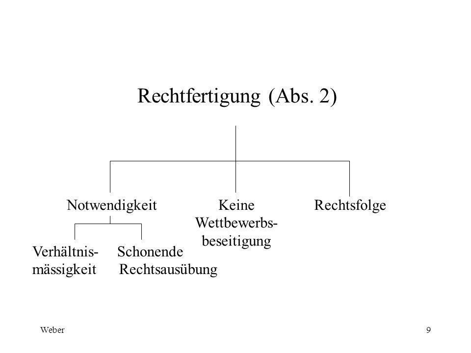 Weber9 Rechtfertigung (Abs.