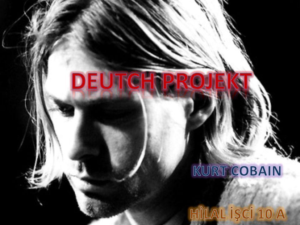 Kurt Donald Cobain war ein U.S Amerikanischer Rockmusiker.