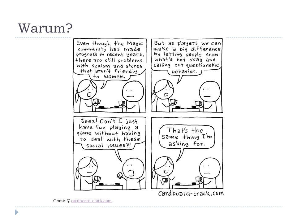 Warum? Comic © cardboard-crack.comcardboard-crack.com