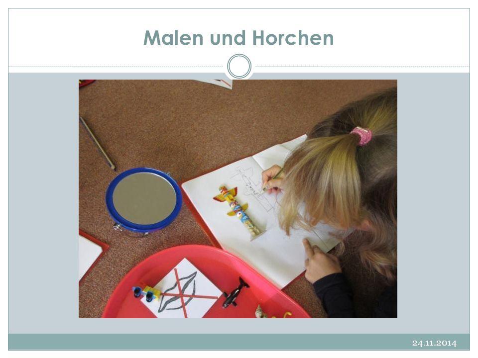 Malen und Horchen 24.11.2014