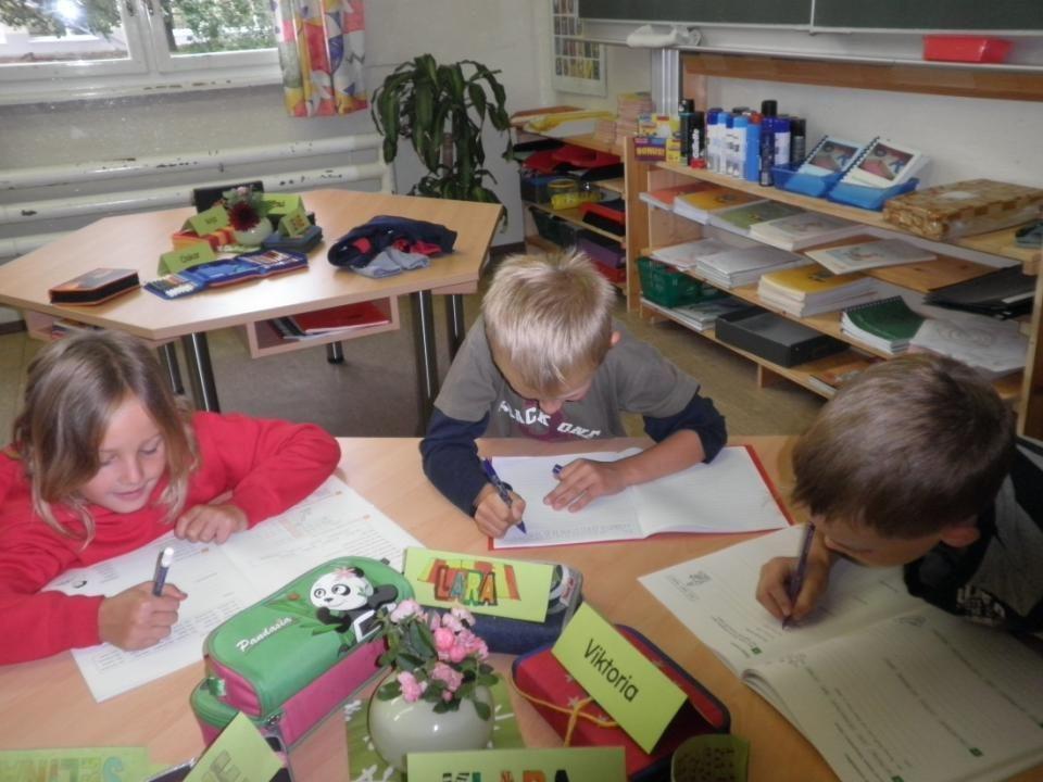 Wesentlich für den Anfangsunterricht 24.11.2014 27 Beachten der unterschiedlichen Lerntypen, damit auf die entsprechenden Lernkanäle der Kinder eingegangen werden kann.