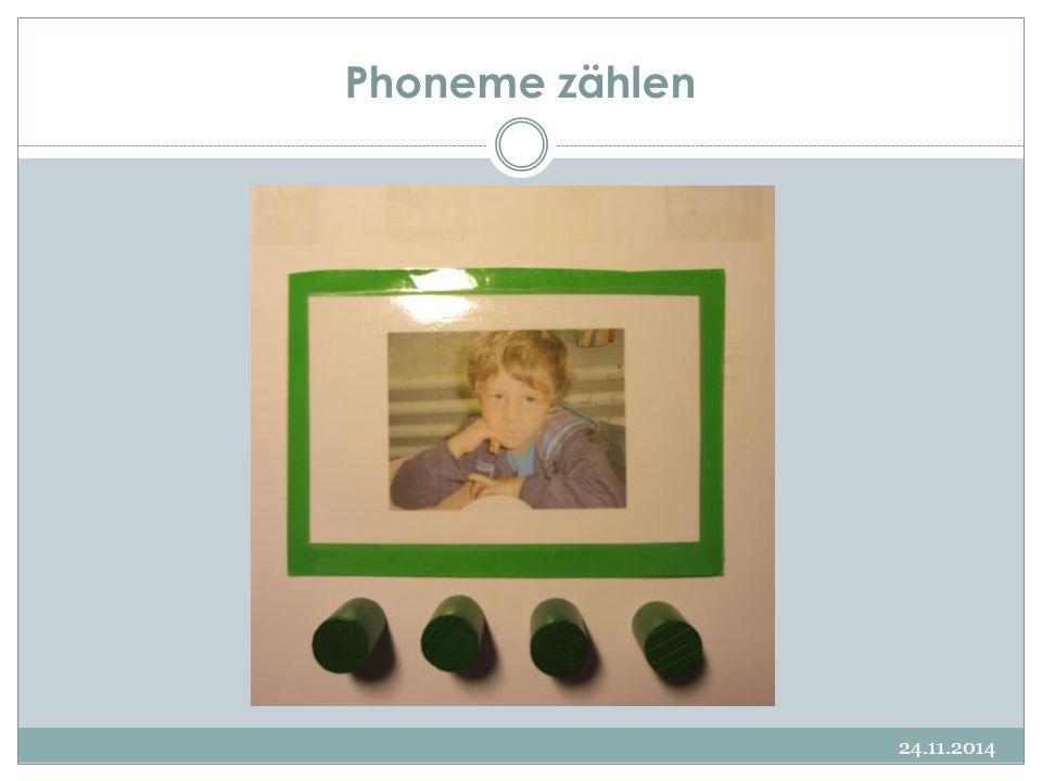 Phoneme zählen 24.11.2014